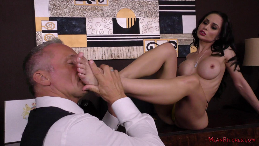 Femdom and Strapon Crystal Rush part 2
