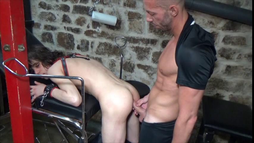 Gay BDSM Twink Creampied by  Xxl
