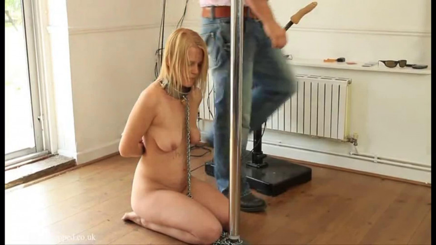 BDSM Hard bondage, domination and torture for hot blonde part4 HD 1080p