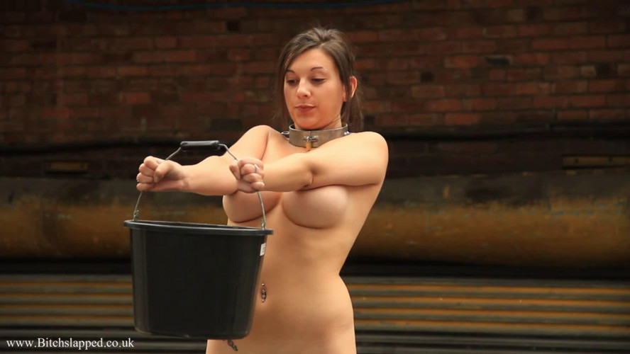 BDSM Super bondage, domination and spanking for sexy naked bitch HD 1080p