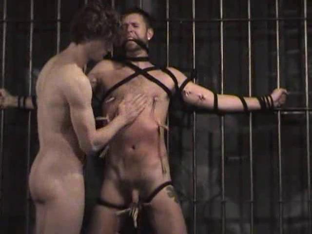 Gay BDSM Bondage Turn Around