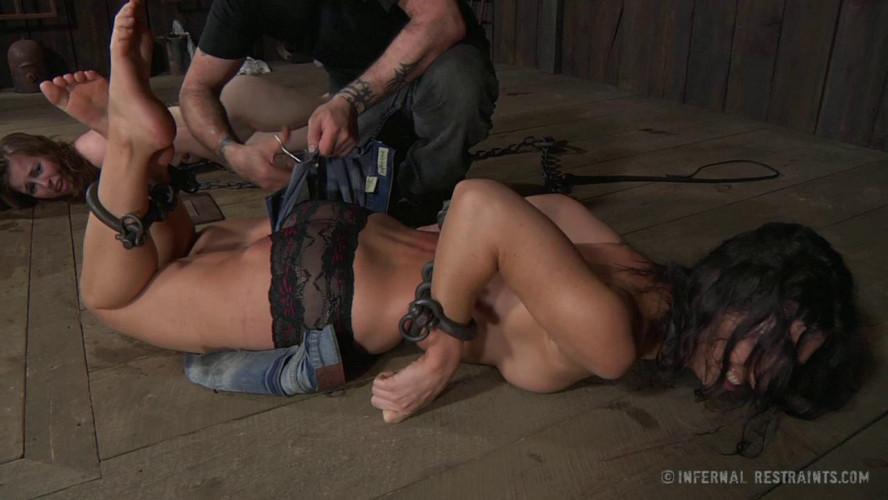 BDSM Tough Teamwork With Skinny Slaves