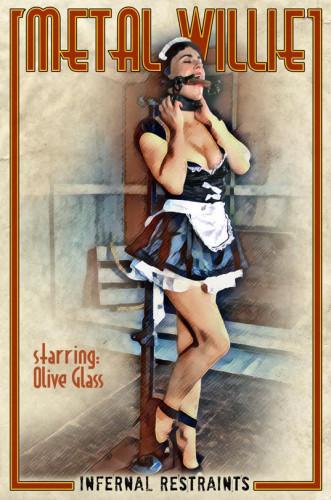 BDSM Metal Willie, Olive Glass