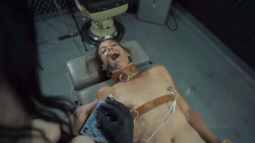 BDSM Let it Out, Control Freak Elise is Bound to Medical Table