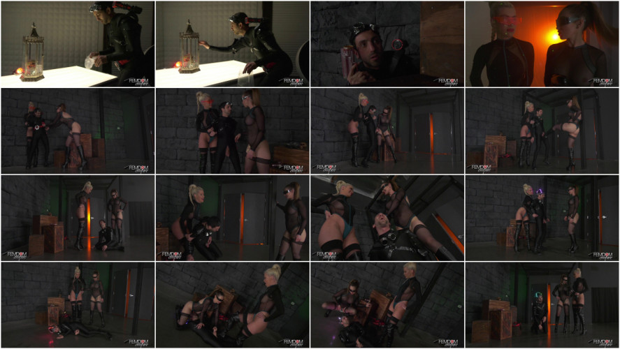 Femdom and Strapon Space Clits: The Ballbusting