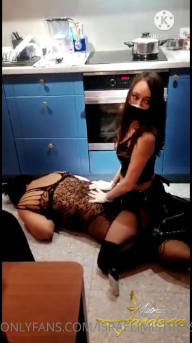 Femdom and Strapon Jardena Mistress Goddess Femdom Collection Part Five