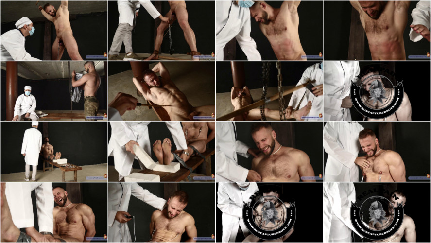 Gay BDSM Commando Stas and the Doctor - Final Part from ruscapturedboys