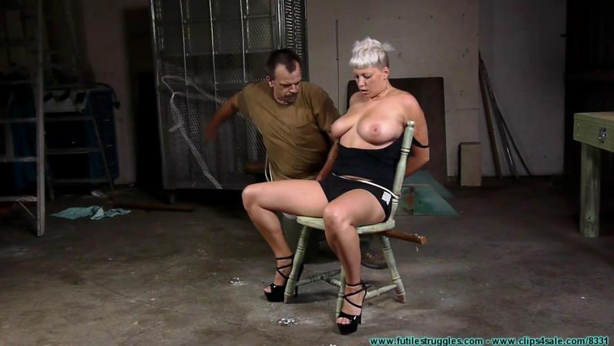 BDSM Nova Pink Visits - Chair Tied - Part 1