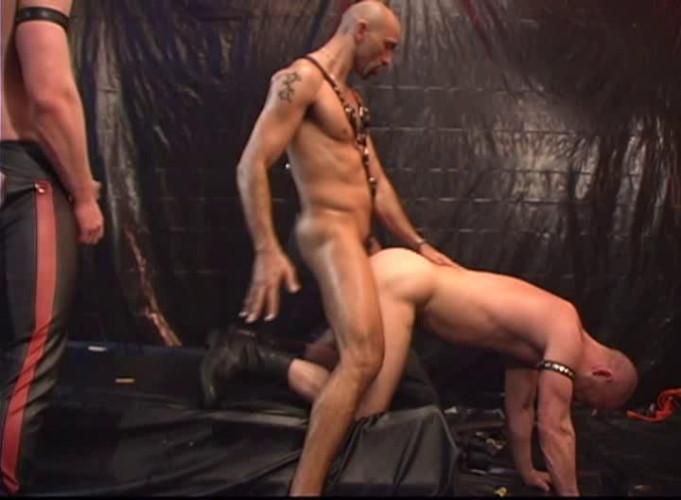Gay BDSM Leather Punks Orgy