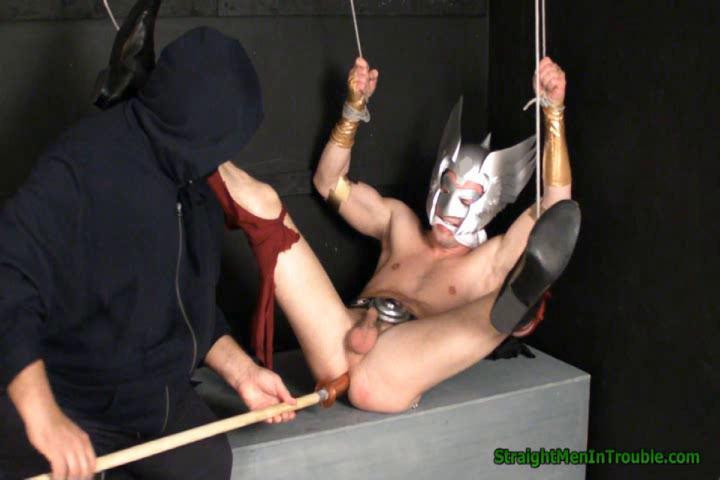 Gay BDSM Superhero Marionette -  Part 3