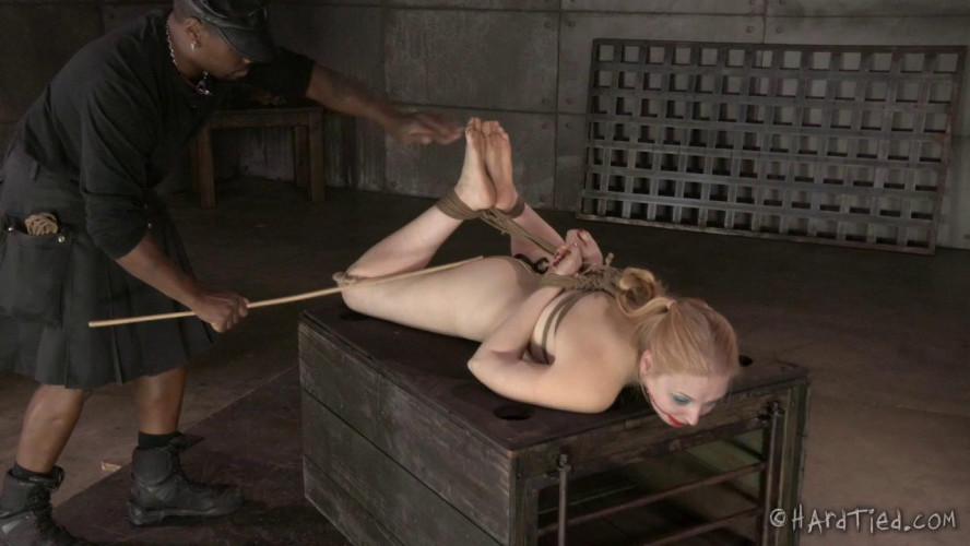 BDSM HT - Blondie Girl in Bondage - Delirious Hunter and Jack Hammer