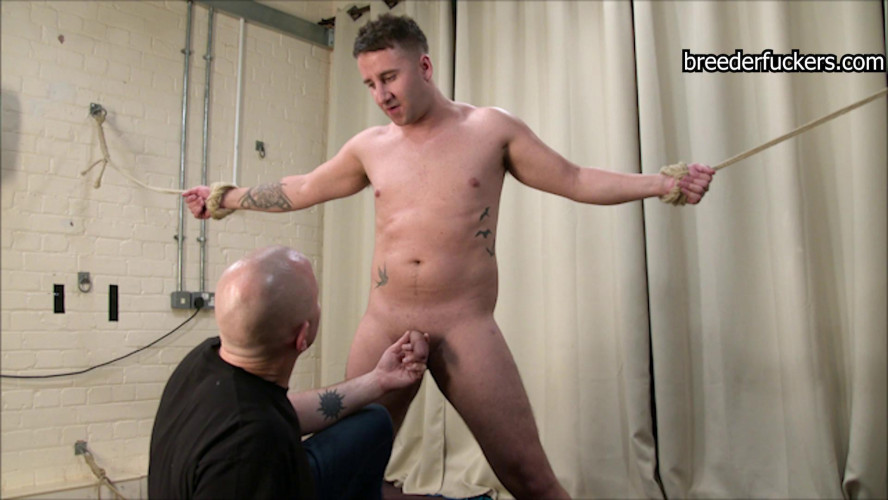 Gay BDSM Ultra hard gay bdsm - Pants destroyed