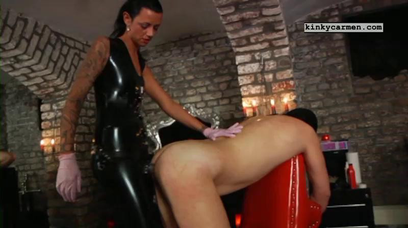 Femdom and Strapon Kinky Carmen Nice Sweet Mega Perfect Vip Collection. Part 3.