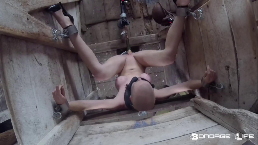 BDSM BrutalMaster and Rachel Greyhound - Greyhound Gets Electric Toes (In Hell!)