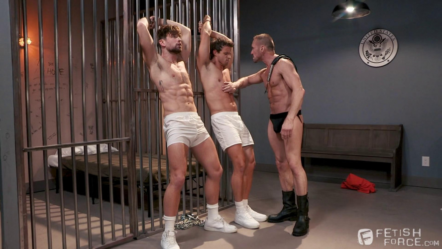 Gay BDSM FistingCentral - Submission Prison Scene 1