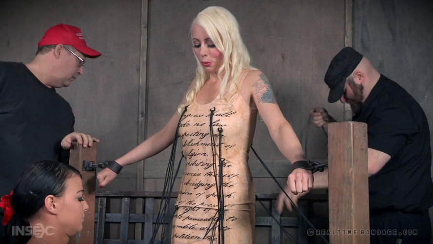 BDSM Comeback Bondage Fo Blond Slave