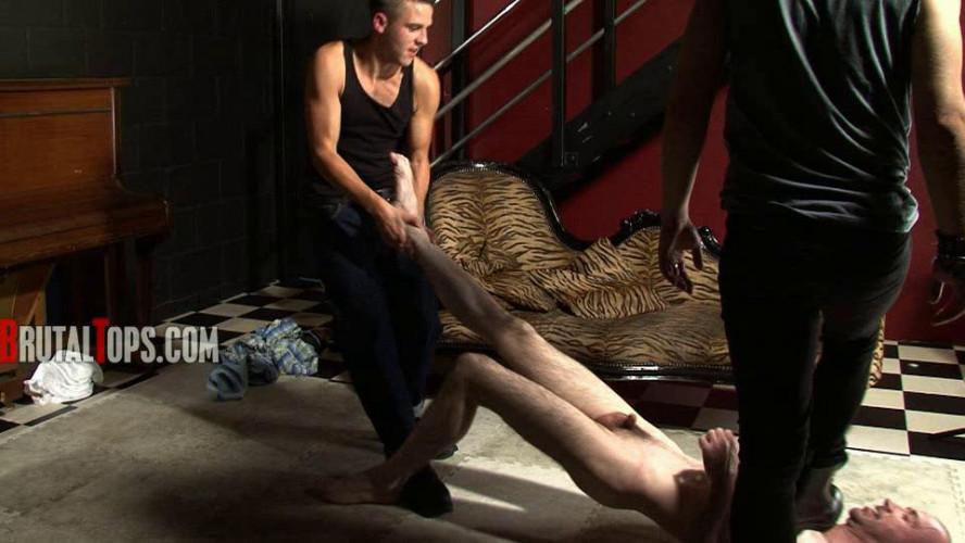 Gay BDSM Session 116 (Sweaty Rockstars Use Oral Dumpster)
