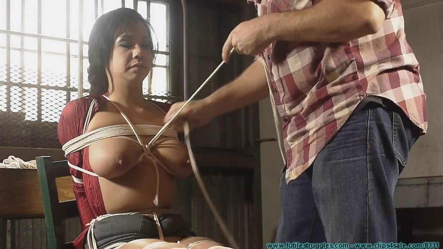 BDSM Kimmy Lee Hogtied in the New Studio vol. 2