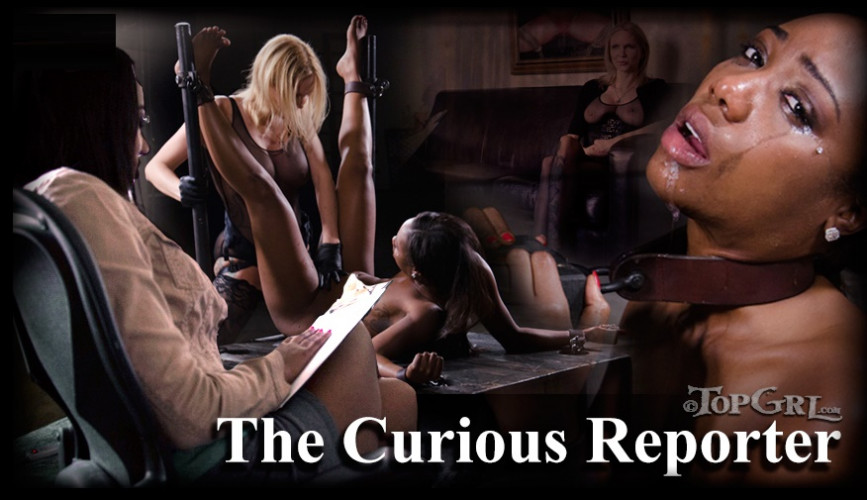BDSM The Curious Reporter - Chanell Heart, Pockit Fanes and Rain DeGrey