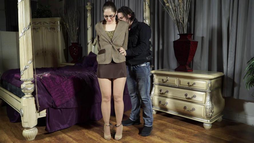 BDSM Rachel arrested before work