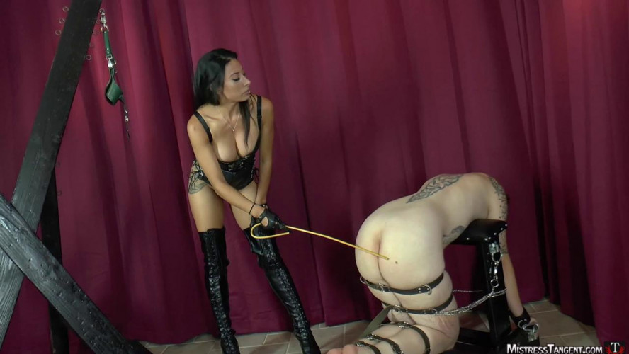 Femdom and Strapon Strapon Training part 5