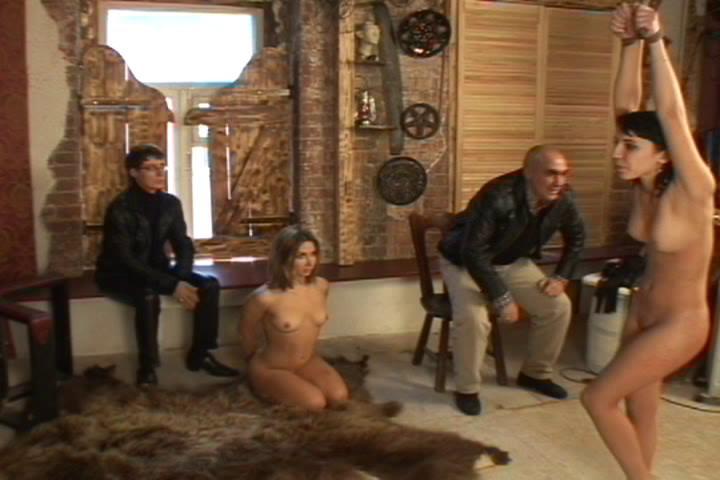 BDSM Russian Slaves Dominated At Pain Club