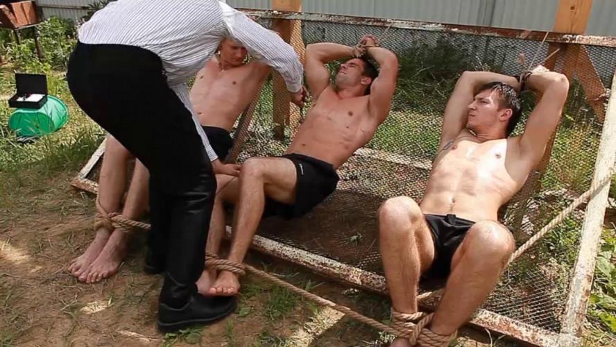 Gay BDSM RusCapturedBoys - Trap for Escaped Captives Part 10
