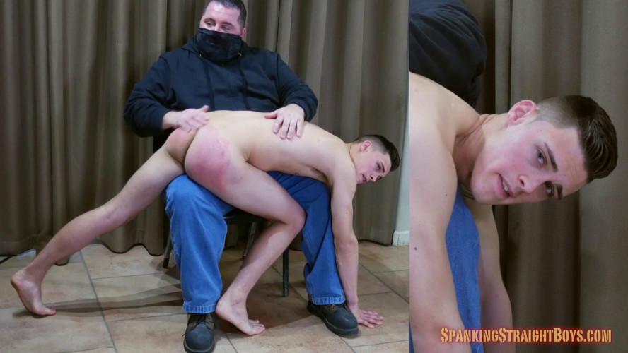 Gay BDSM Owen Back Over the Knee