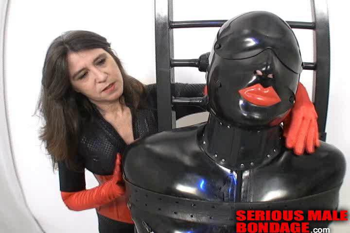 Femdom and Strapon In the first part of this video Kitty torments her slave ModeNarr