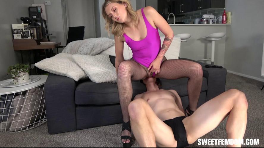 Femdom and Strapon Charlotte Sins Taste My Fucking Ass