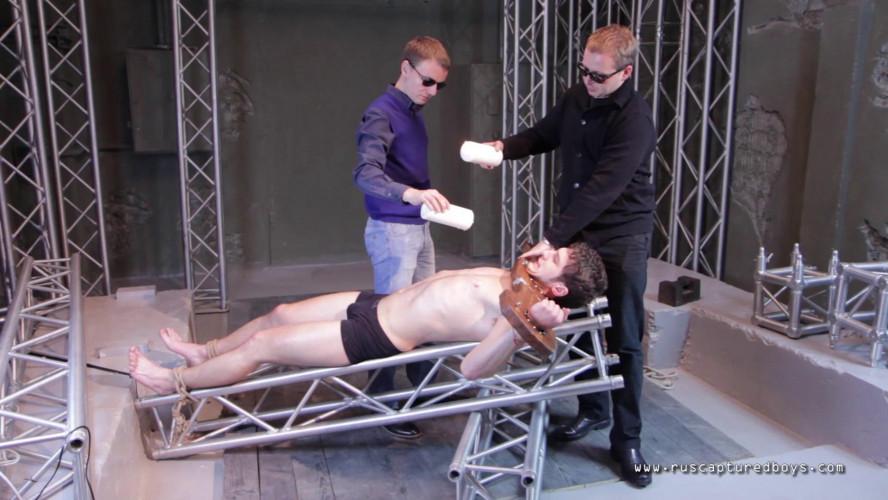 Gay BDSM RusCapturedBoys - Rent-a-Body II - Veniamin - Final Part