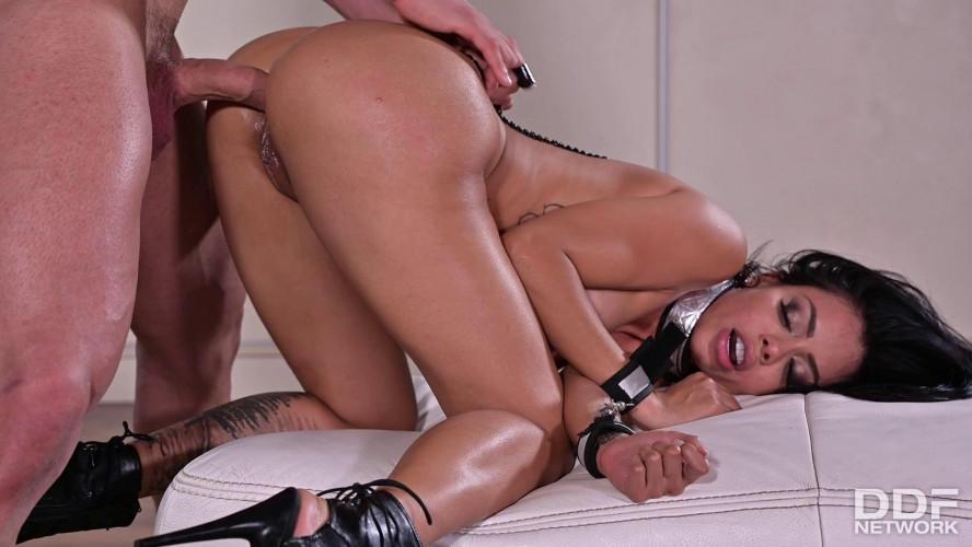 BDSM Latina Sub Canela Skin Gets Fucked Like A  In Heat