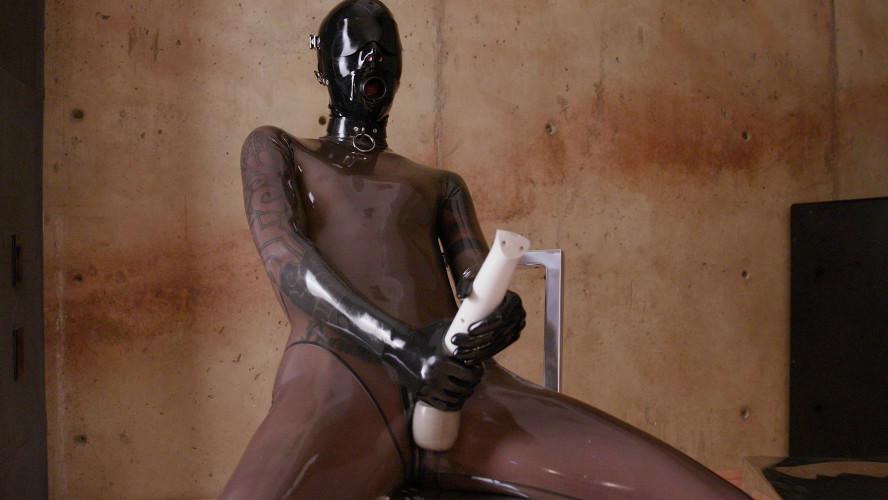 BDSM Latex Salivary