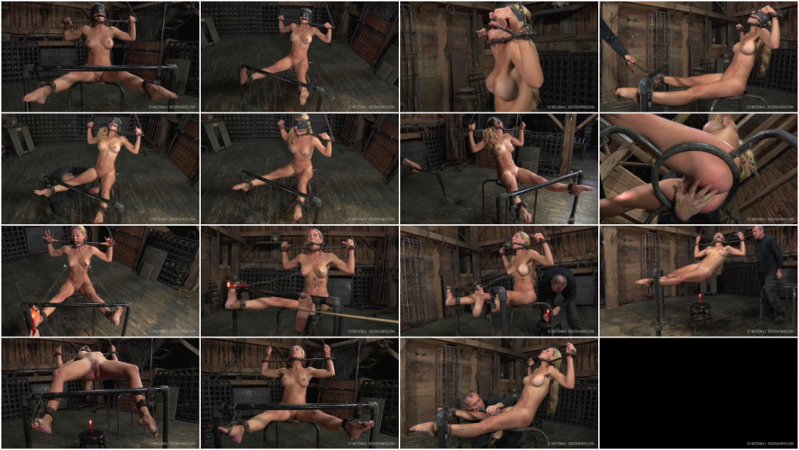 BDSM Bondage, strappado, spanking and torture for bitch part 2  Full HD 1080p