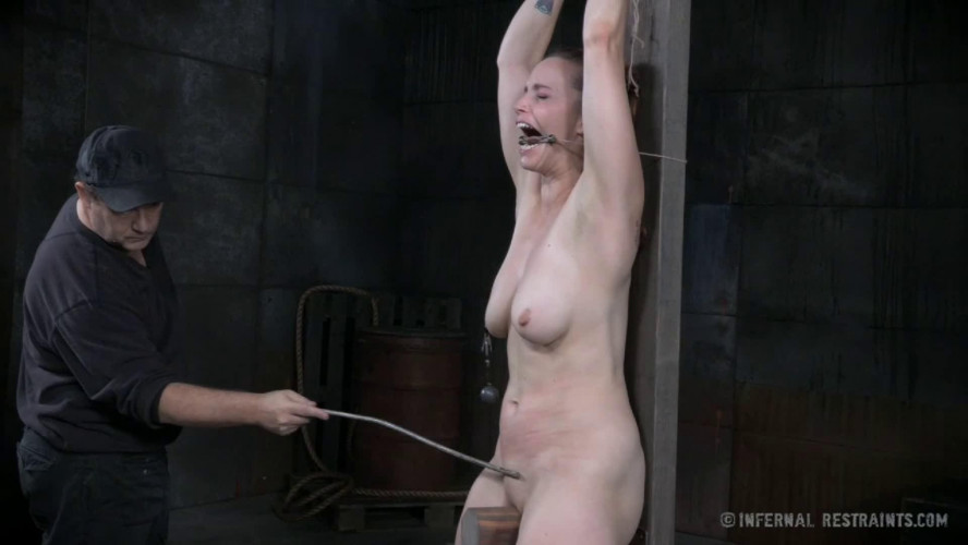 BDSM Hard bondage, spanking and torture for very sexy bitch Full HD