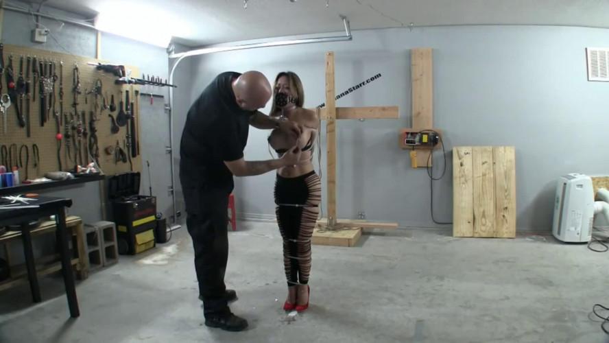 BDSM Tight bondage, domination and torture for horny hot slavegirl Full HD 1080p