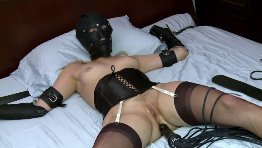 BDSM Bondage, spanking and torture for very beautiful blonde part 2