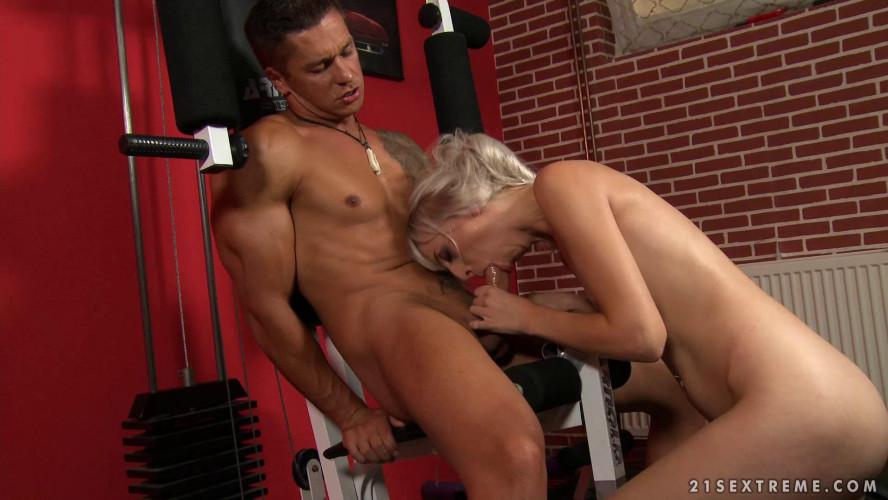 BDSM Brutal Training For Skinny Blonde Alexa Wild