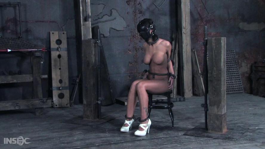 BDSM Harsh punishment for sexy ebony slave