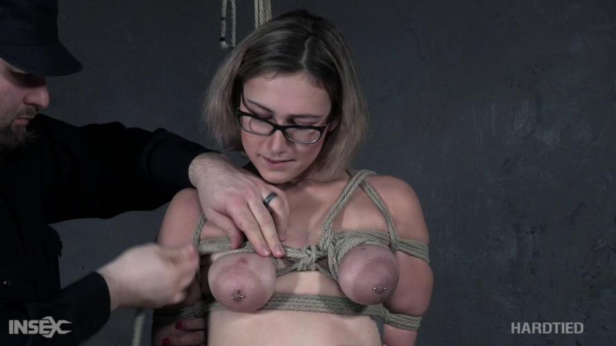 BDSM Tit Tie - Red August - 720p