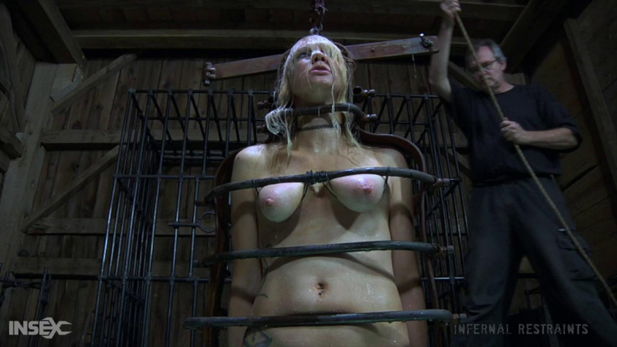 BDSM Sexy  Rain DeGrey Gets Rough Bondage & Tortures