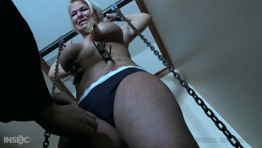 BDSM Rough Tortures For Busty Slave London River