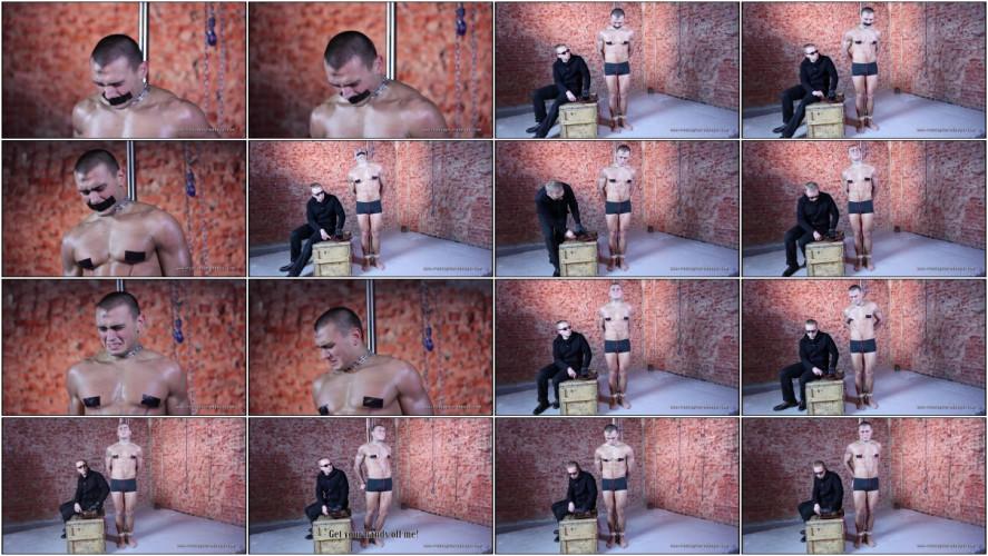 Gay BDSM RusCapturedBoys - Judoist Vitaly in Slavery 2