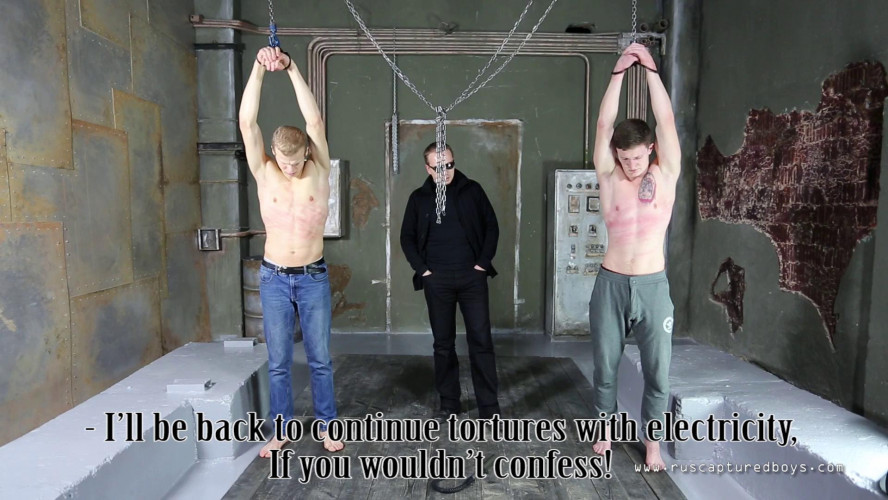 Gay BDSM Magnificent 47 Clips Ruscapturedboys. Part 6.