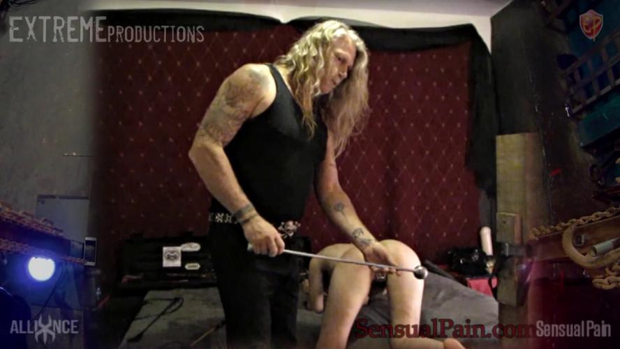 BDSM Abigail Dupree - Master Whips Slave Orgasm Denial visiting the SensualPain