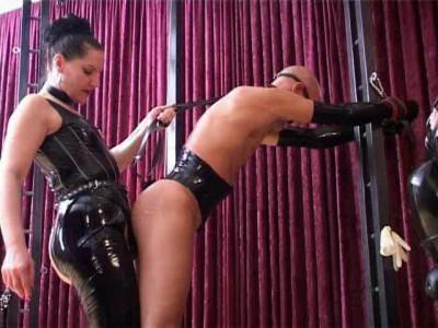 BDSM Latex Herrin Silvia - Best Of Dildo