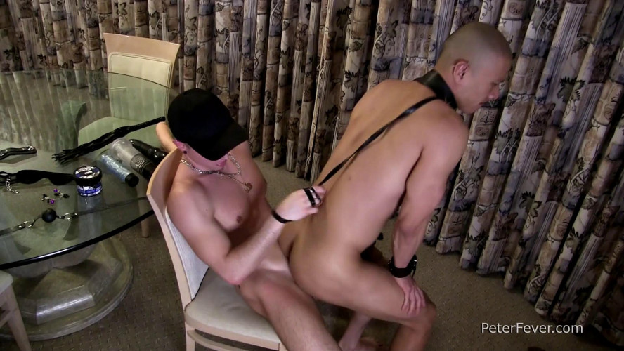 Gay BDSM PeterF - Tyler Slater & Caged Jock - Suit and Tied - Love