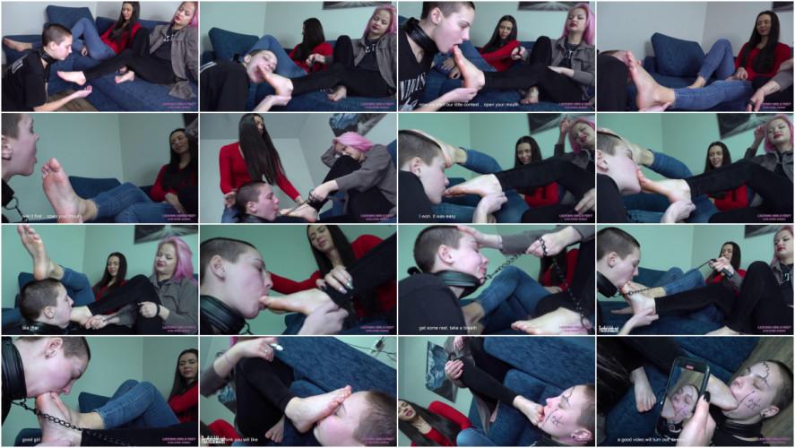 BDSM Lets Play a Humiliating Game - Elena and Mia - UltraHD 2160p