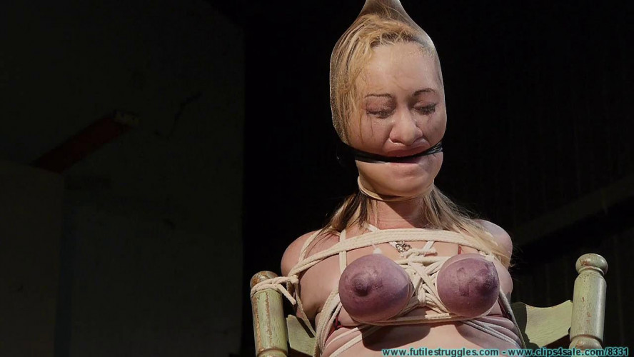BDSM Lexi Kneels and Begs for Tit Torture, and Gets It vol. 4