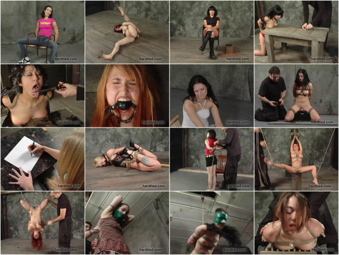 BDSM Mega New Exclusive Beautifull Unreal Cool Collection Hard Tied. Part 4.